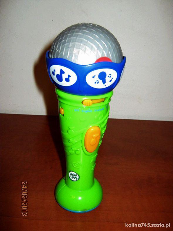 Zabawki LEAPFROG Interaktywny Mikrofon uczy gra
