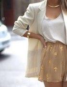 gold white camel