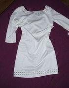 biała tuniczka