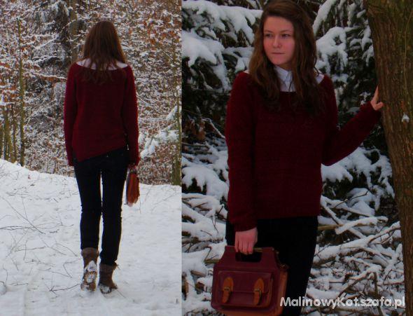 Eleganckie Asymetryczny sweter