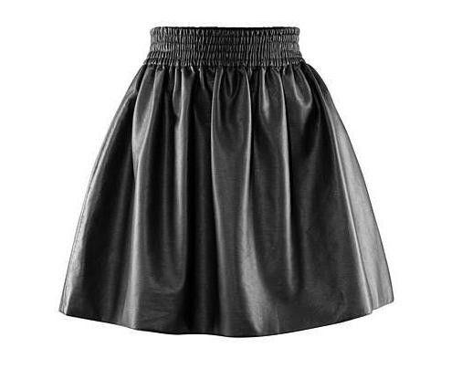 Spódnice Śliczna spódnica ze skóry