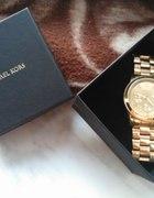 złoty zegarek mk