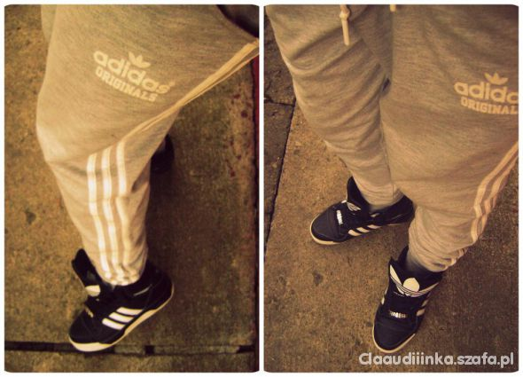 Spodnie Baggy Adidas Originals