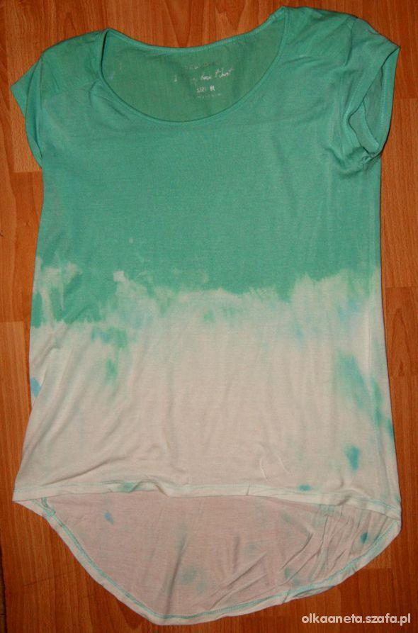 Bluzki DIY t shirt ombre