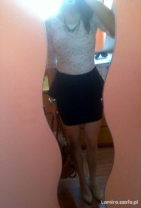 Mój styl Spódnica z baskinką