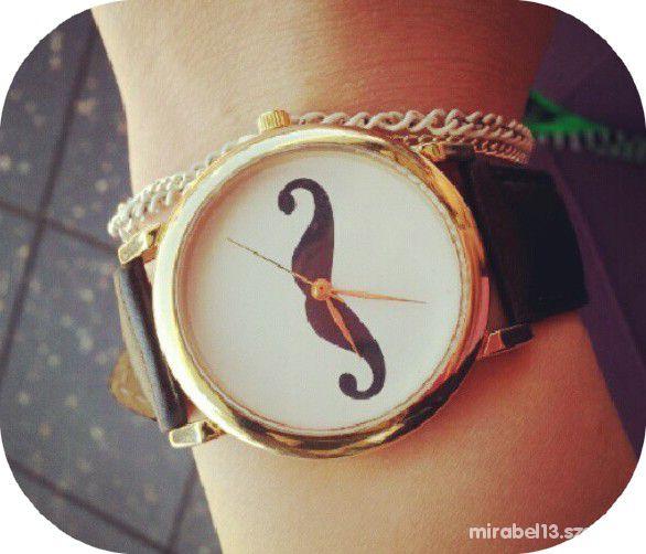 Zegarek moustache