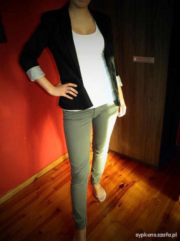 Eleganckie czarno biało szaro