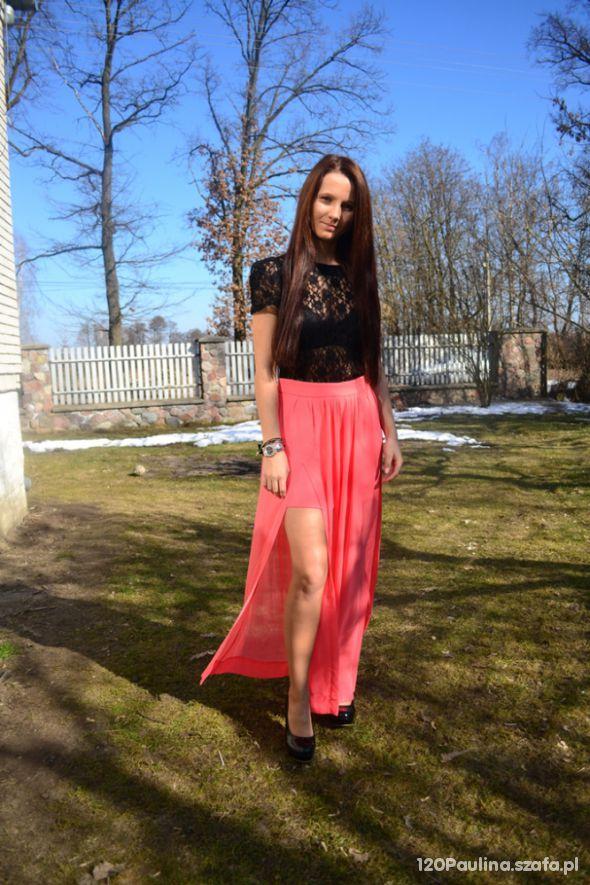 Mój styl spódnica maxi
