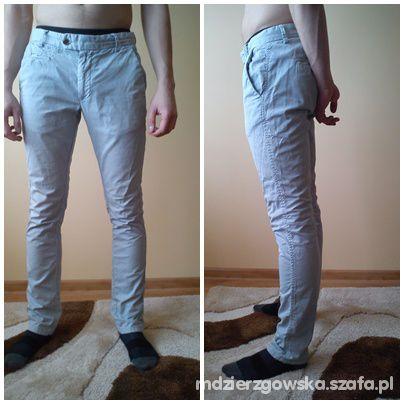 Spodnie męskie Zara szare rozmiar M 31 modne rurki w Spodnie