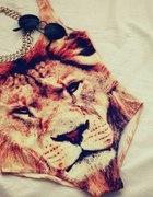 body lew tygrys motyw zwierzęcy
