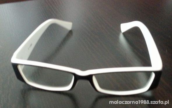 3f34986fc26cff okulary zerówki czarno białe w Okulary - Szafa.pl