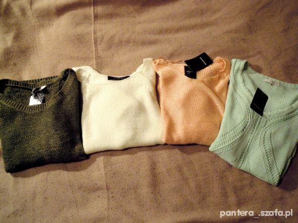 Wiosenne sweterki...