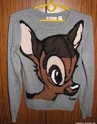 Sweterek Dzwoneczek Bambi myszka miki minnie