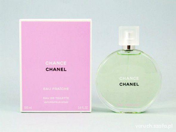 Kosmetyki kupie lub wymienie się chanel chance zielone
