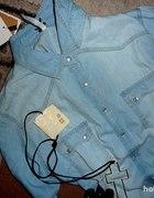 Koszula jeans STRADIVARIUS