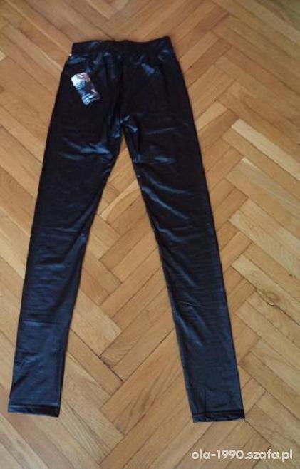 NOWE matowego legginsy S M L cena z przesyłką