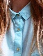 reserved mietowa koszula