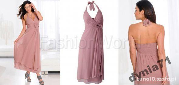Sukienka letnia zwiewna rozmiar L