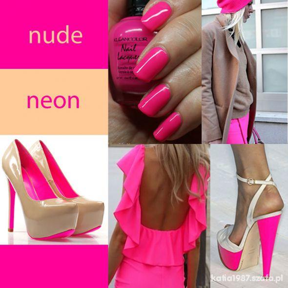 Mój styl Neon&Nude