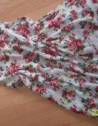 piekna zwiewna sukienka flora