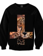 bluza JumaClothing leopard kolce złote