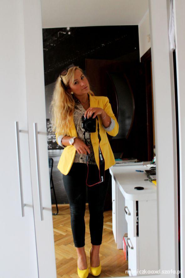 Mój styl zółto mi