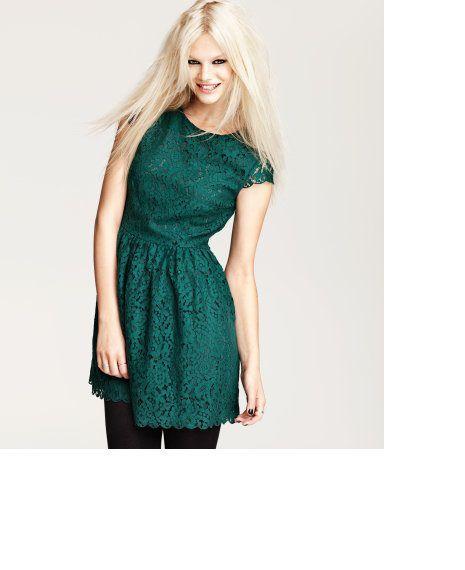 Kupię sukienkę H&M zieloną