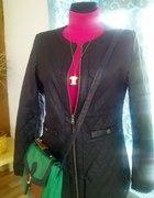 Nowa extra kurtka skora pikowana 38 40 wiosna