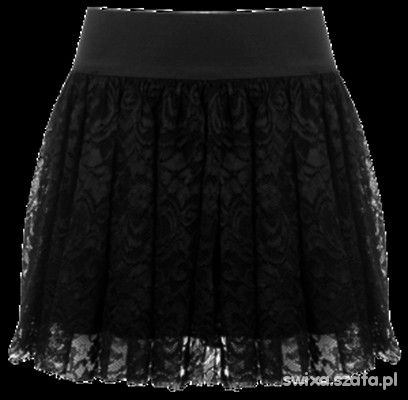 spódniczka koronkowa hm 36 s blogerki