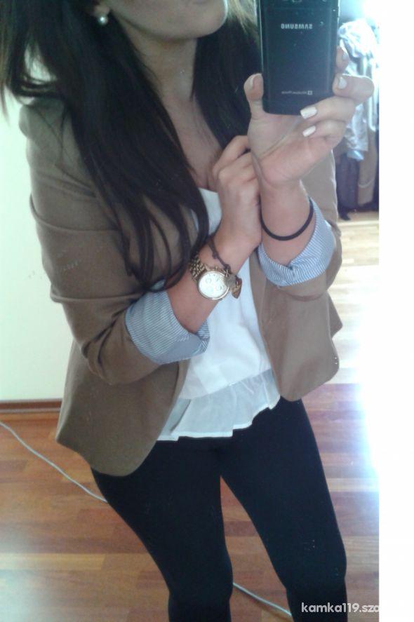 Mój styl blazer zara