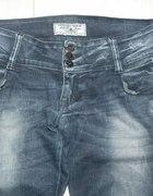 jeansy dziury xl xxl jak nowe cena z przesyłką