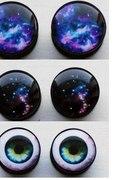 Pluga Oczy kosmos