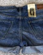 Krótkie spodenki jeansowe H&M