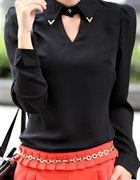 czarna bluzeczka