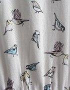 Sukienka w ptaszki by H&M...