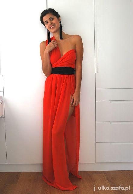 Długa suknia DIY