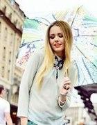cudowna parasolka i naszyjnik...