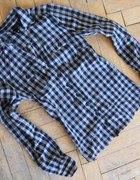H&M koszula w kratkę kratka XS 34