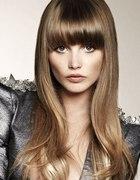 Modne i fajne fryzury z grzywką Inspiracje