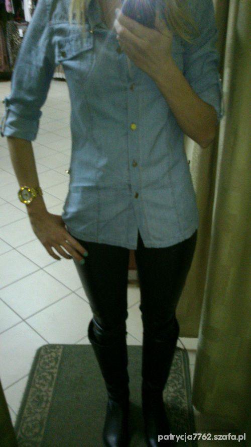 Do szkoły Koszula jeans