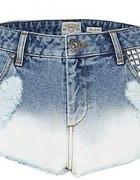 spodenki jeans krótkie