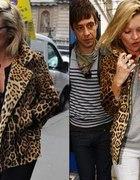 kurtka płaszczyk leopard