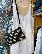 H&M koronkowa sukienka lace dress zamek zip...