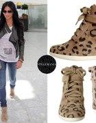 nicole sherzinger sneakers leopard piekneeee