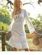 Biała sukienka na codzień