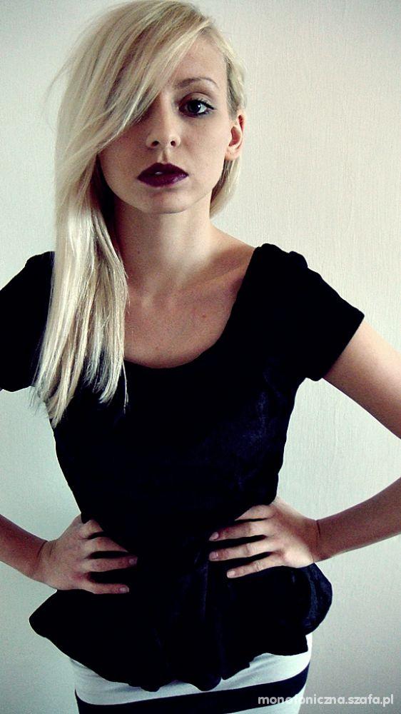 Mój styl Czarna dama