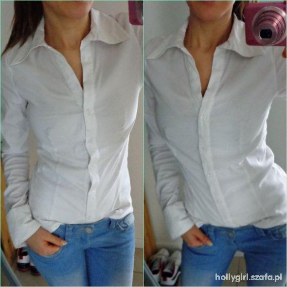 Na specjalne okazje biala koszula