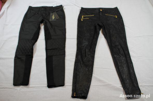 spodnie z zamkami zara