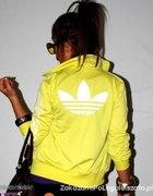 Bluza adidas zółta...