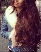 Cudne długie włosy